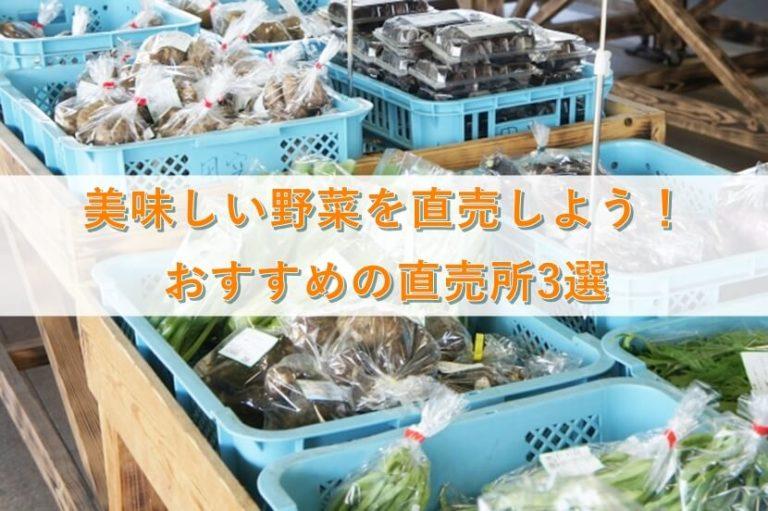 長野の野菜直売所おすすめ3選