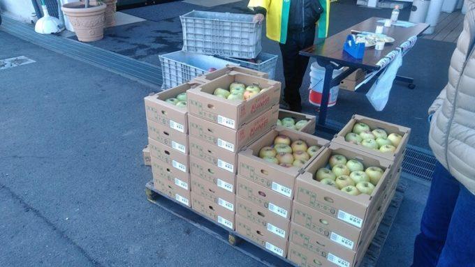 中野市いきいき館「りんごまつり」