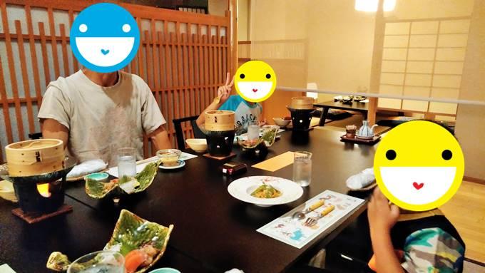 古久屋の夕食時