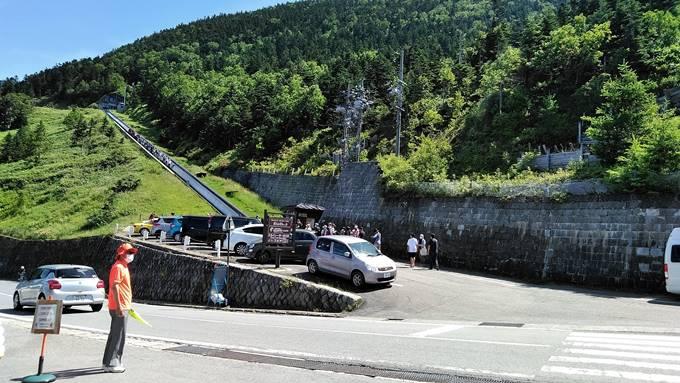 志賀高原横手山スカイレーター