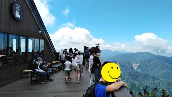 横手山山頂展望台