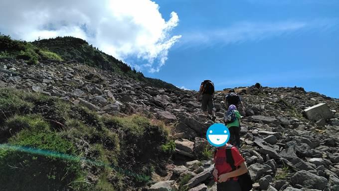 横手山登山