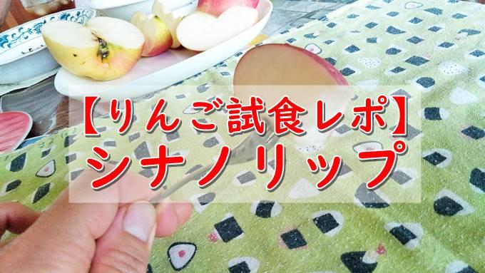 シナノリップりんごの特徴!味や食感はどうなの?【食べてみた感想レポ】