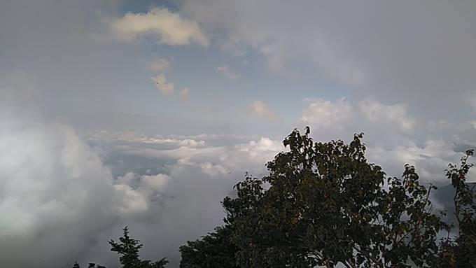 横手山山頂からの眺め