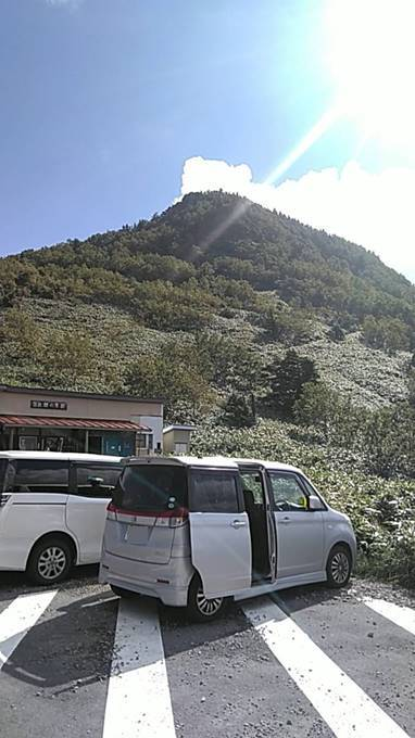 笠ヶ岳駐車場