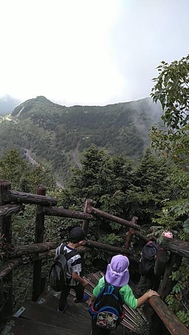 笠ヶ岳下山時