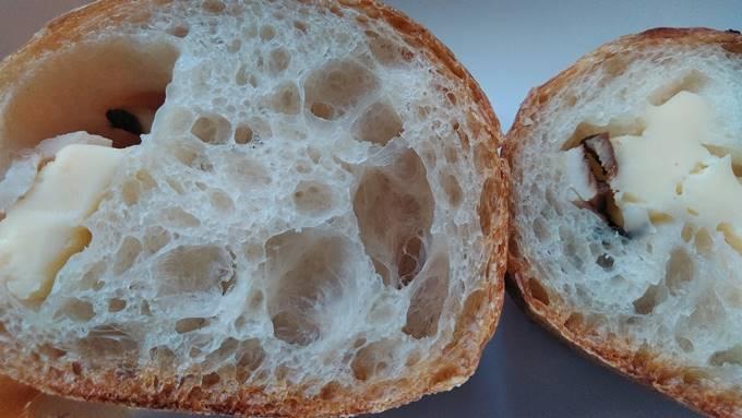 木島平村パーニスのフランスパン