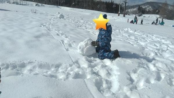 木島平スキー場子供広場